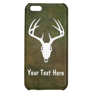 Custom Deer Hunting Skull Case For iPhone 5C