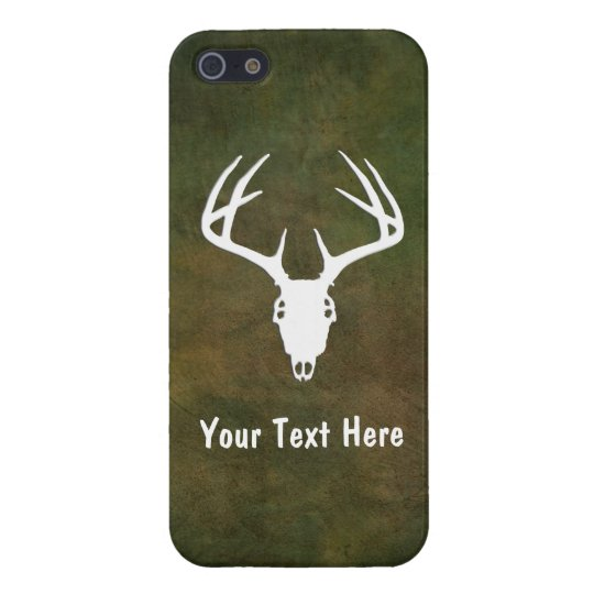 Custom Deer Hunting Skull Case For iPhone SE/5/5s