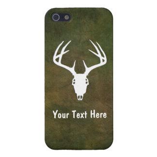 Custom Deer Hunting Skull Cover For iPhone 5
