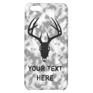 Custom Deer Hunting Skull iPhone 5C Covers
