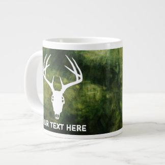 Custom Deer Hunting Skull Large Coffee Mug