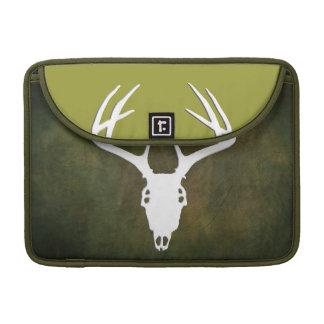 Custom Deer Hunting Skull MacBook Pro Sleeve