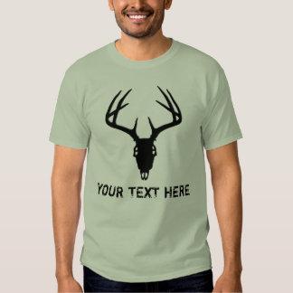 Custom Deer Hunting Skull Shirt