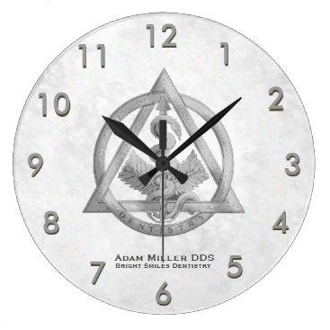 rxmugs Custom Dentist Clock White