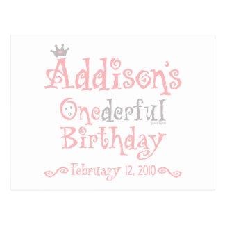 Custom Design - Addison Postcard