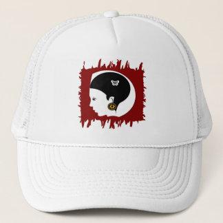 Custom design coffee mug trucker hat