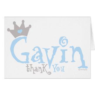 Custom Design - Gavin Card