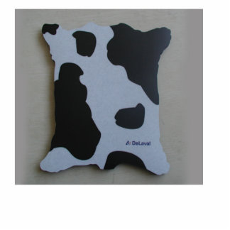 Custom design mouse pad cutout