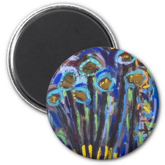 Custom design round magnet
