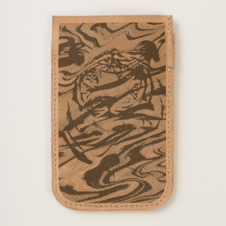 Custom design Tiger iphone 7 pouch