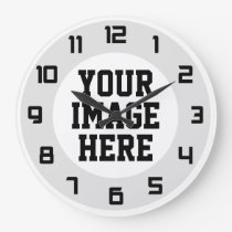 "Custom ""Design Your Own"" unique wall clock"