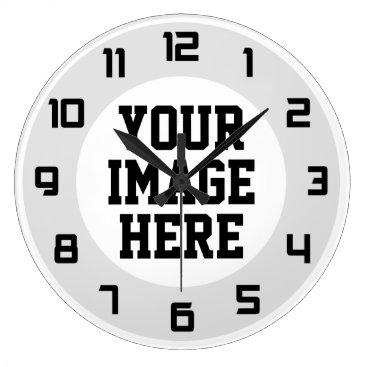 "laxshop Custom ""Design Your Own"" unique wall clock"