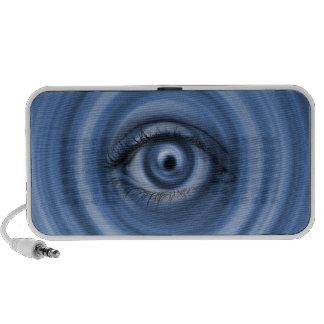 Custom Designed Doodle speaker, Blue Eye Mini Speakers