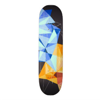 Custom designed skateboard