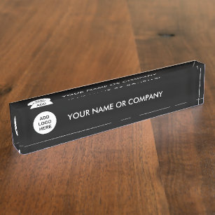 Template Desk Name Plates Zazzle