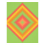 Custom Diamond Abstract Design Letterhead Design