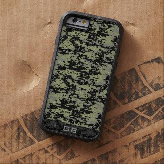 Custom Didgital Camo Monogram Tough Xtreme iPhone 6 Case