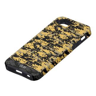 Custom Didgital Camo Monogram iPhone 5 Cases