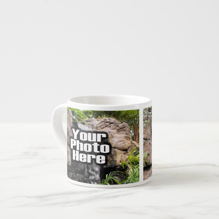 Custom Digital Photo Espresso or Specialty Mug