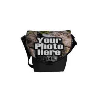 Custom Digital Picture Courier Bags