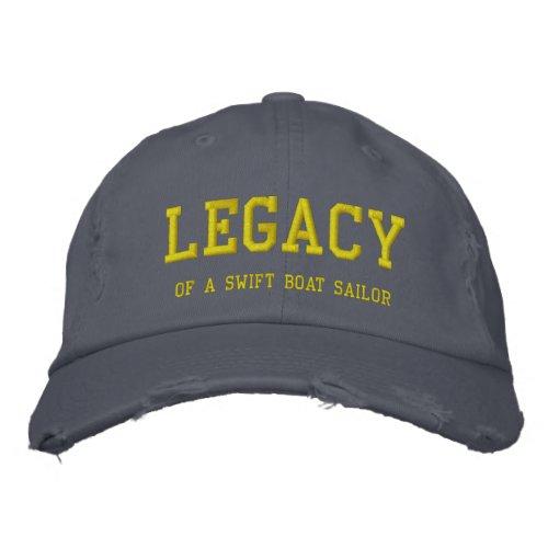 Custom Distressed Legacy baseball cap