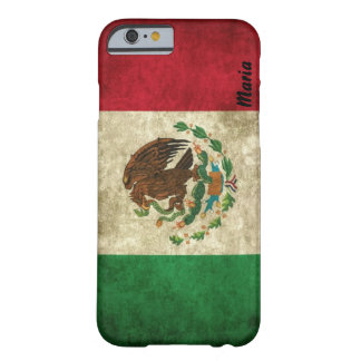 Custom Distressed Mexican Flag iPhone 6 case