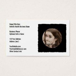 Custom DIY Personalized Photo Frame Business Card