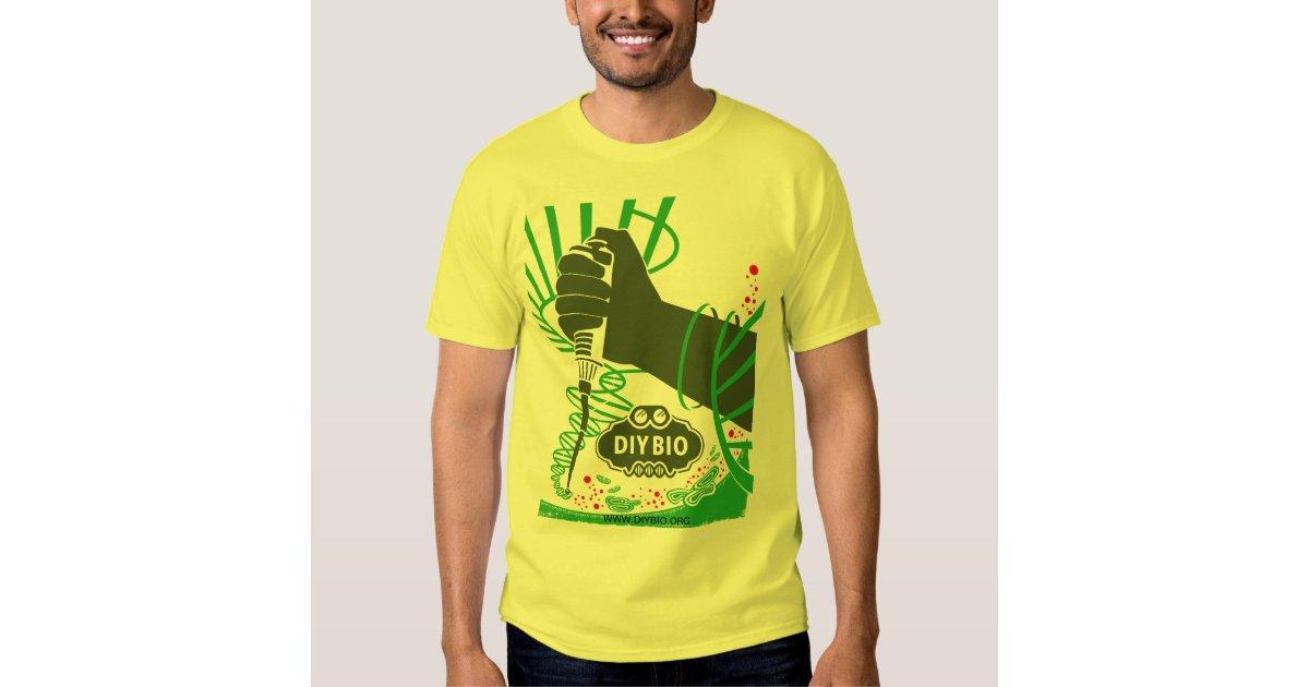 Custom diybio t shirt zazzle for Zazzle custom t shirts