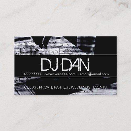 Custom DJ Business Cards