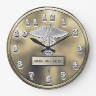 Custom Doctor Medical Clinic Clock