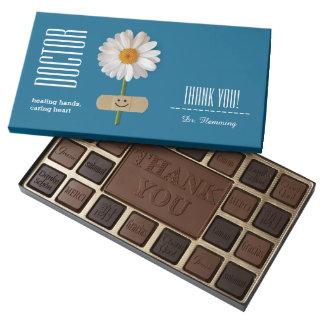 Custom Doctor's Name Gift Box of Chocolates 45 Piece Box Of Chocolates