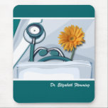 "Custom Doctor&#39;s Name Gift Mousepad<br><div class=""desc"">National Doctors&#39; Day,  Doctors&#39; Week,  Thank You Doctor,  Graduation,  Doctor Appreciation Gift Mousepads  with Custom Name for Doctors. Matching cards ,  postage stamps and other products available in the Business Related Holidays / Healthcare Category of our store.</div>"