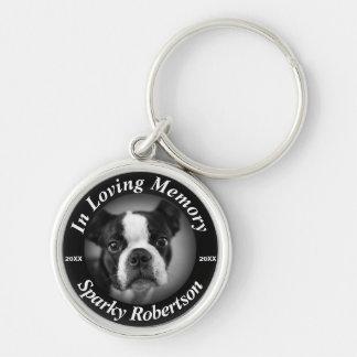Custom Dog Memorial Keychain