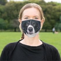 Custom Dog Photo Adult Cloth Face Mask
