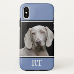 Case-Mate Barely There iPhone X Case with Weimaraner Phone Cases design