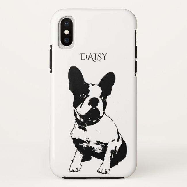 Custom Dog Photo Or Art And Name Case-Mate iPhone Case