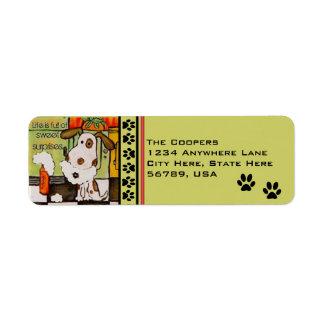 Custom Dog Return Address Labels