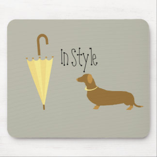 Custom Dog Walker Pet Lover In Style Mouse Pad
