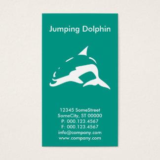 custom dolphin company business card