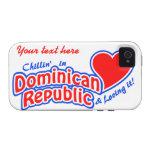Custom Dominican iPhone 4 Case-Mate