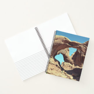 Custom Double Arch Photo Sketch Notes Notebook