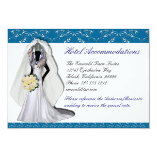 Custom Drag Imperials Accommodations Cards