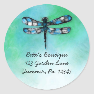 Custom Dragonfly Sticker