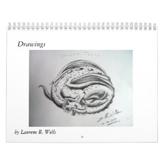 Custom Drawings Calendar