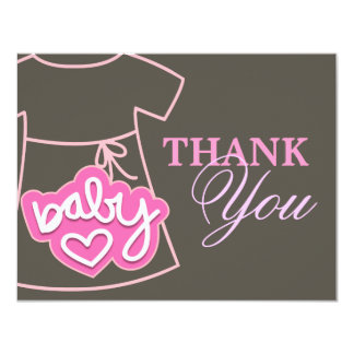 Custom dress thank you card personalized announcements