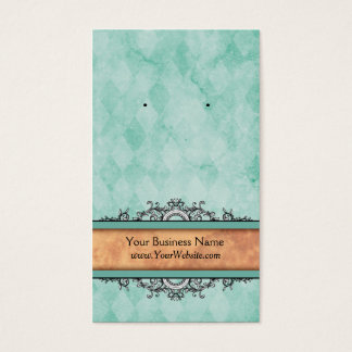 Custom Earring Cards Turquoise Vintage