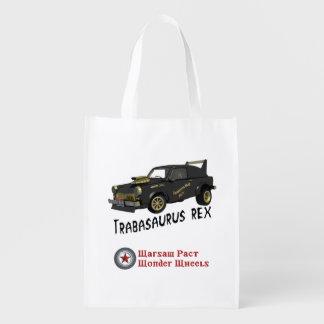 Custom East German Trabant Car Grocery Bag