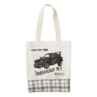 Custom East German Trabant Car Zazzle HEART Tote Bag