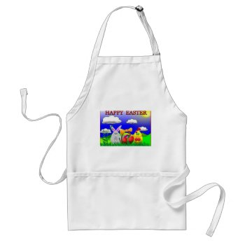 Custom Easter Apron by creativeconceptss at Zazzle