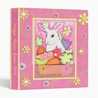 Custom Easter Family Scrapbook Photo Binder
